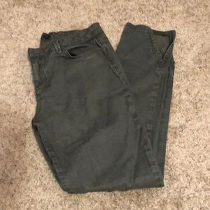 Army / Olive green Joe's Jeans